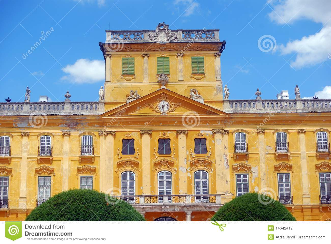 Esterhazy Castle, Fertod, Hungary Royalty Free Stock Images.