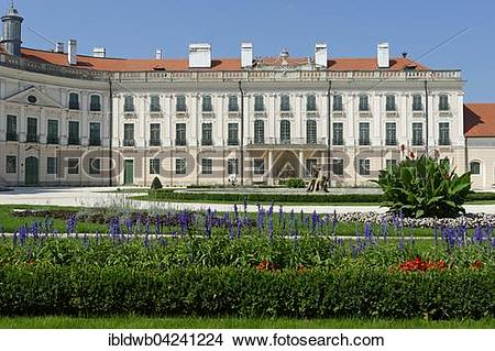 Stock Photo of Schloss Esterhazy or Esterhazy Palace, Esterhazy.
