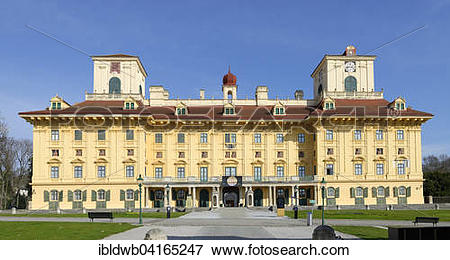 Picture of Schloss Esterhazy, Esterhazy Palace, Eisenstadt.