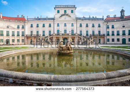 Esterhazy Palace Stock Photos, Royalty.