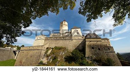 Stock Photography of Esterhazy castle EsterhBzy Kast?lz Burg.