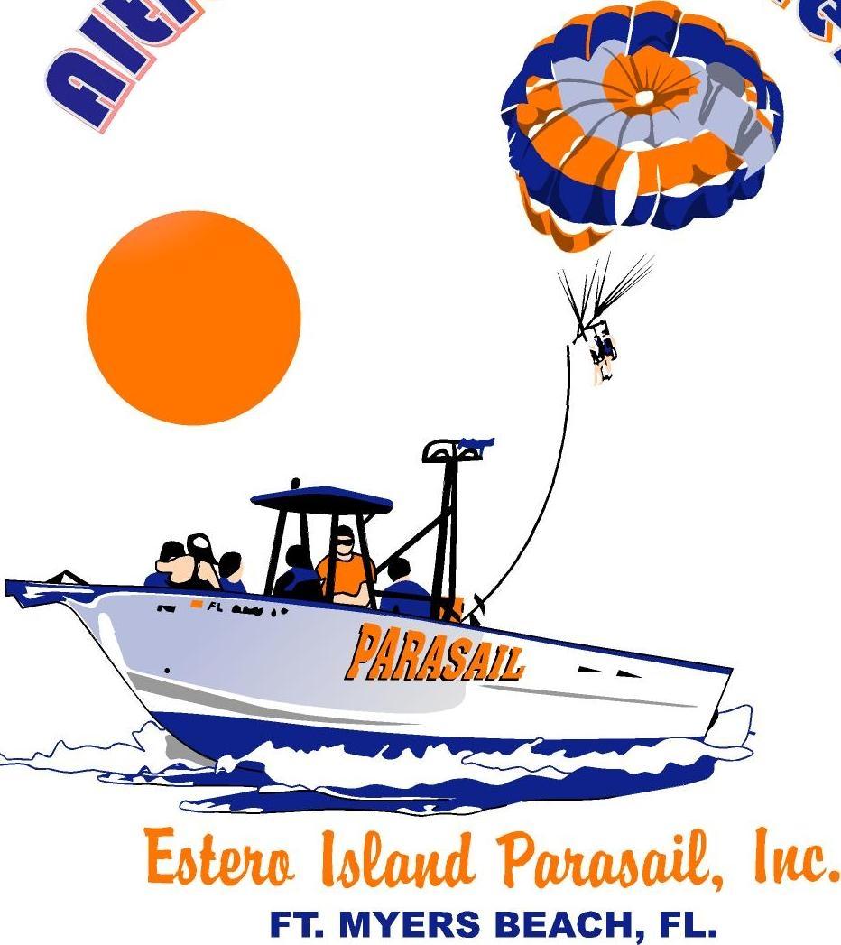 Estero Island Parasail.