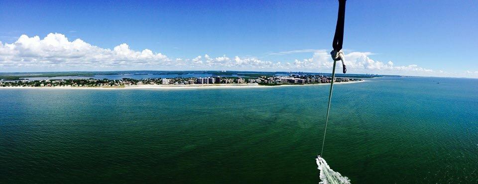 Estero Island Parasail Fort Myers Beach.