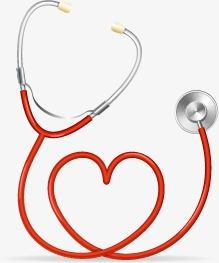 Stethoscope, Love, Vector PNG Transparent Clipart Image and PSD File.