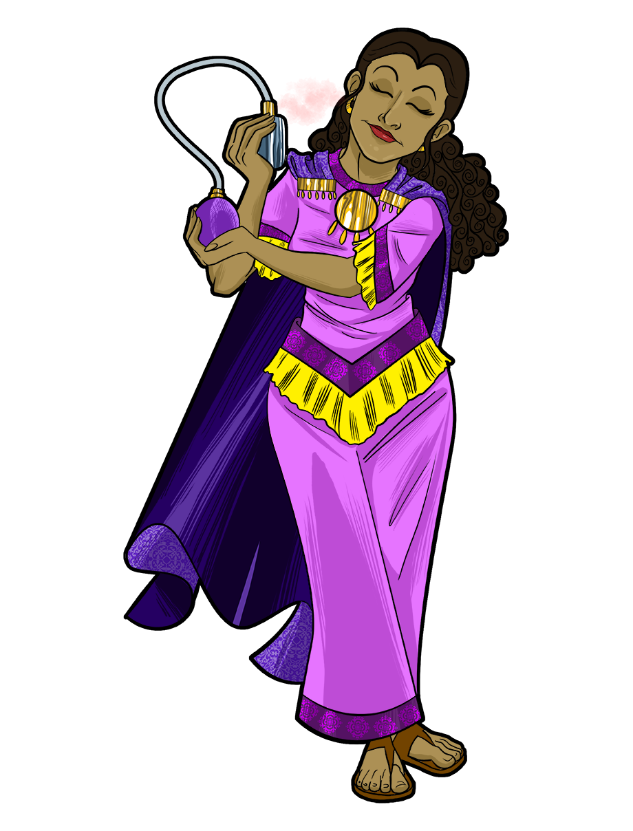 Queen Esther Bible Clipart.