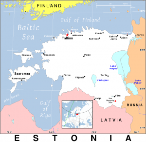 Estonia Flag Full Page Clip Art Download.