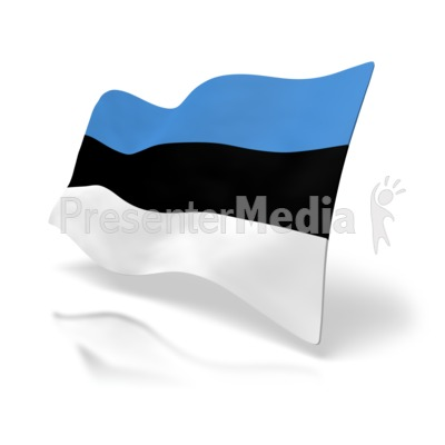 Estonia Flag.