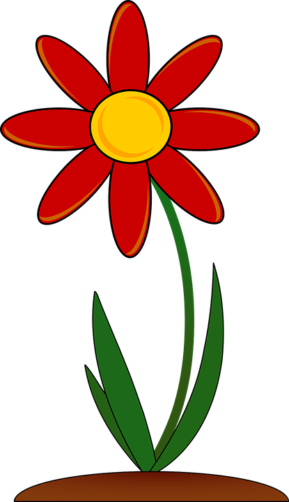Free vector graphic: Plant, Flowering, Red, Floral.