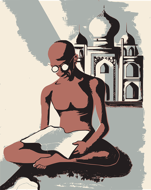 Free photo Symbol Yoga Lotus Culture Gandhi India Stereotype.