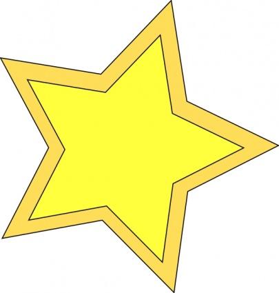 Star_double clip art Clipart Graphic.