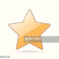 Estrela Dourada imagens vetoriais.
