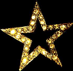 Estrelas douradas png clipart images gallery for free download.