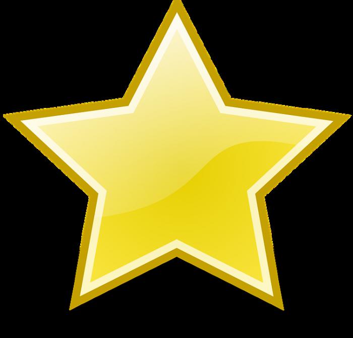 Estrela Dourada Png Vector, Clipart, PSD.