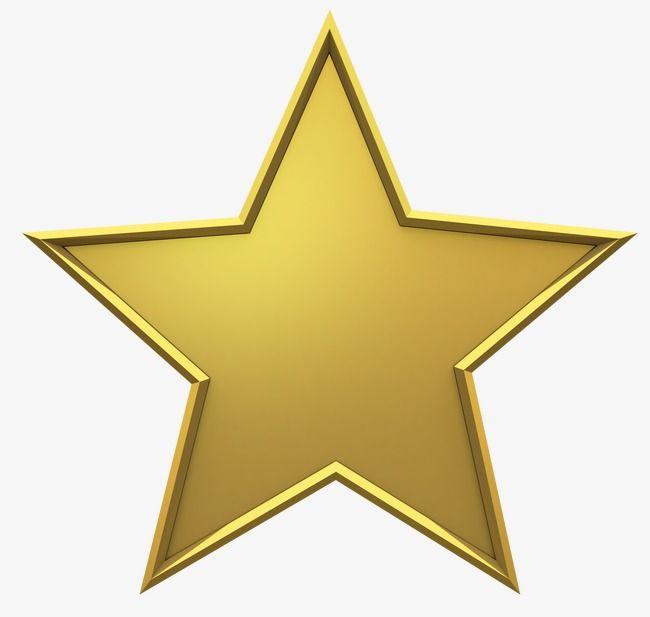 Estrelas De Metal Dourado, As Estrelas, 5 Estrelas, Estrela Dourada.