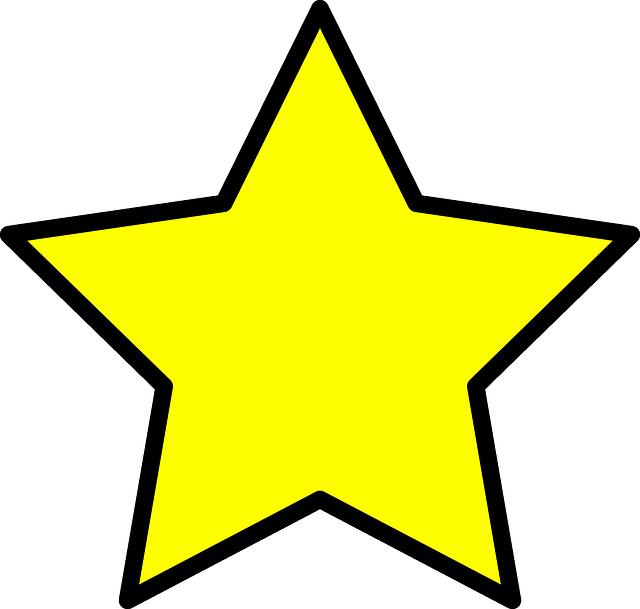 Estrela Png Desenho Vector, Clipart, PSD.