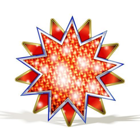 Estrela Vermelha Mágica.