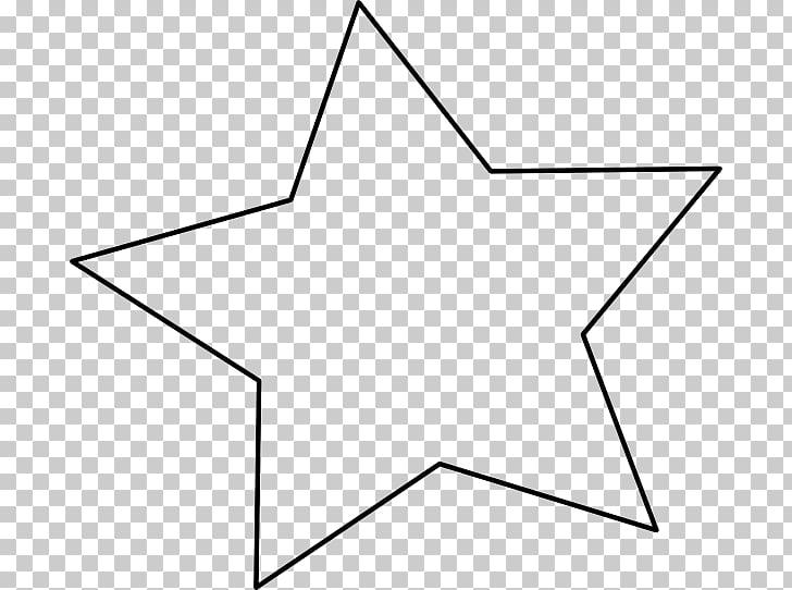 Estrella blanca PNG Clipart.