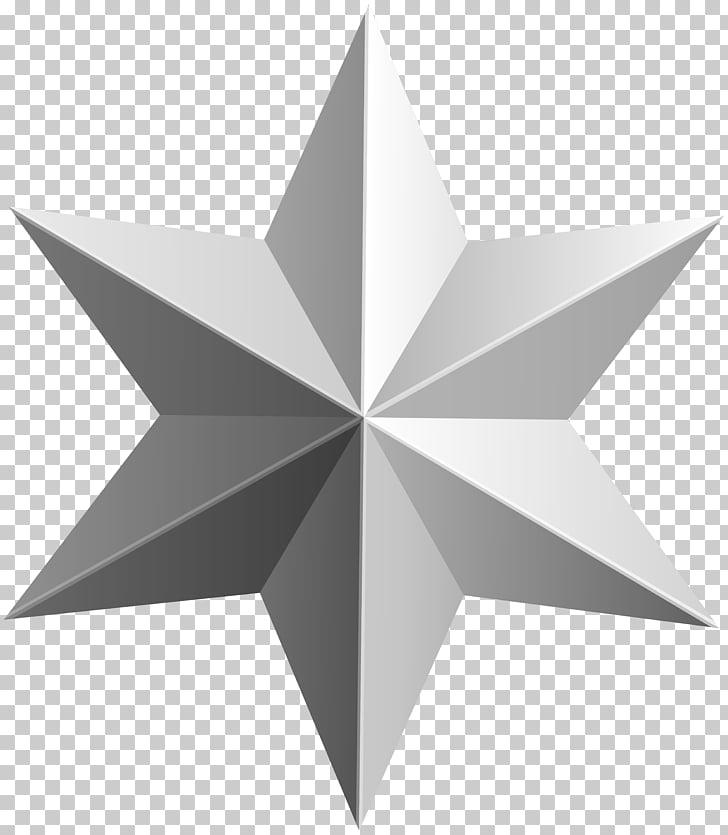 Estrella blanca ilustración, estrella de oro, estrella de.