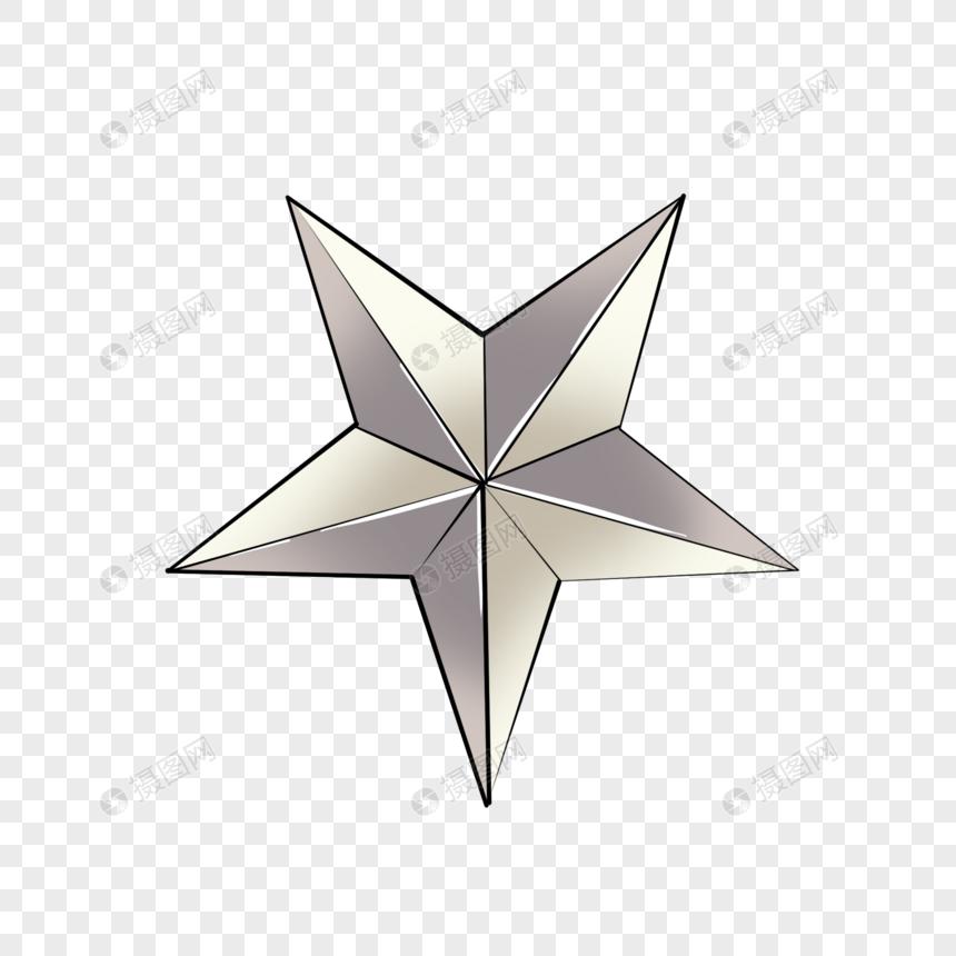 estrella blanca de cinco puntas Imagen Descargar_PRF Gráficos.