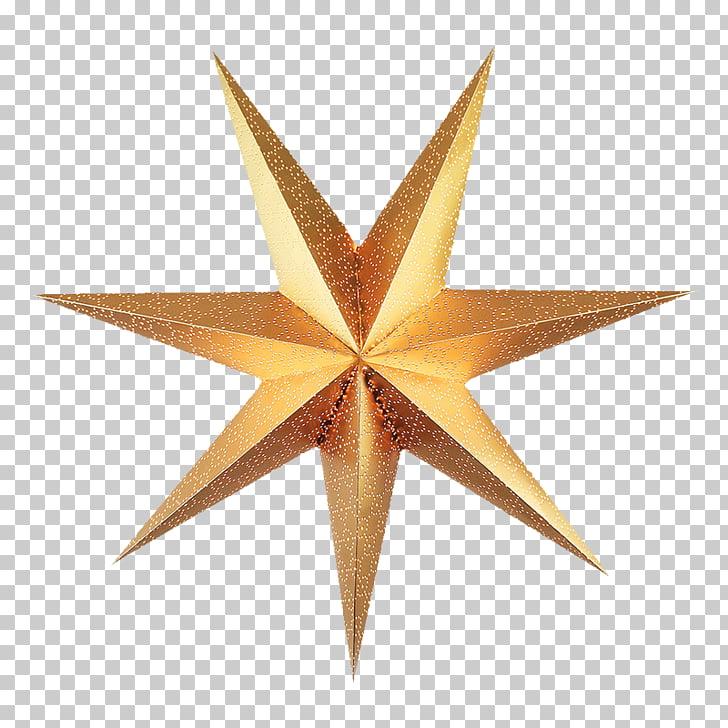 Estrella de navidad de belén, estrellas PNG Clipart.
