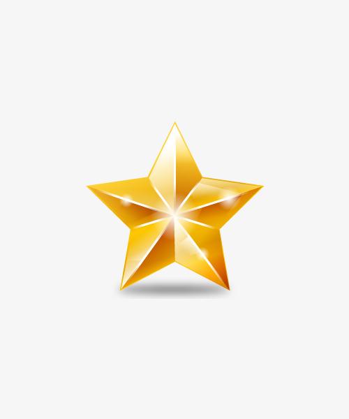 Estrella de navidad PNG Clipart.