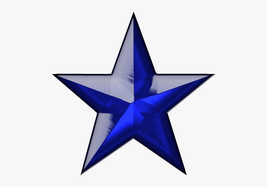 Blue Stars Png.