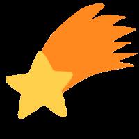 Estrella fugaz png 1 » PNG Image.