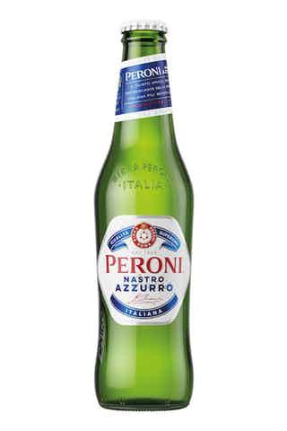 Peroni Nastro Azzurro Pale Lager.