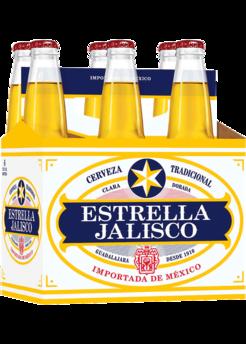 Estrella Jalisco 6pk 12oz bottles.