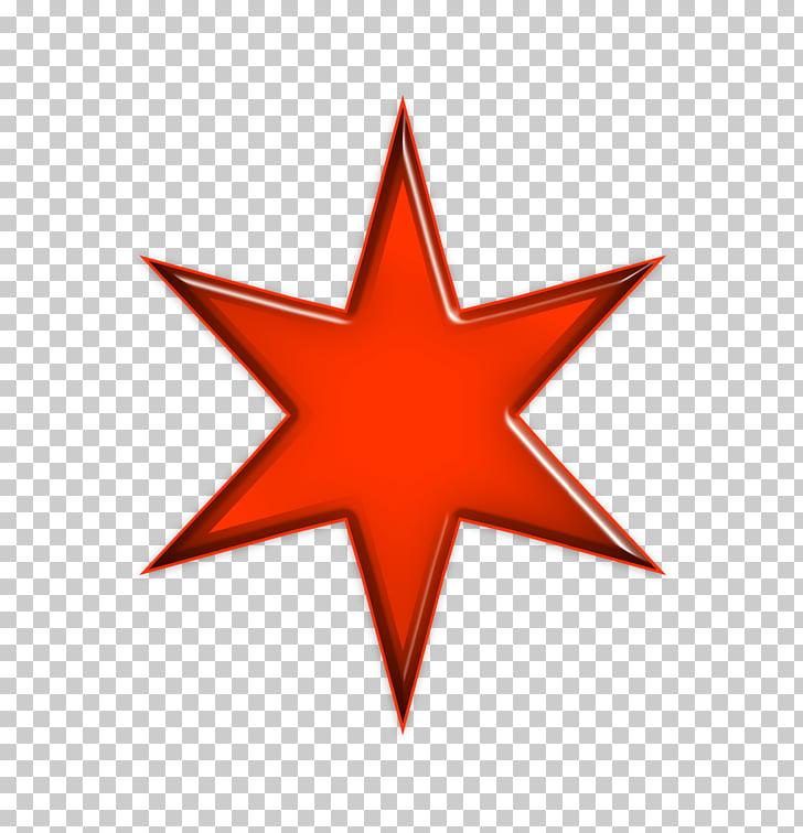 Estrella de la silueta de belén, estrella roja PNG Clipart.
