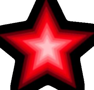 Estrella roja png 2 » PNG Image.