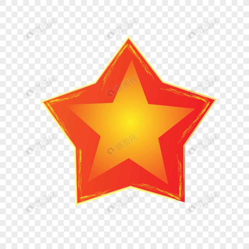 dibujado a mano estrella roja Imagen Descargar_PRF Gráficos.