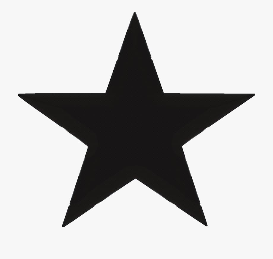 Estrellas Negras Png.