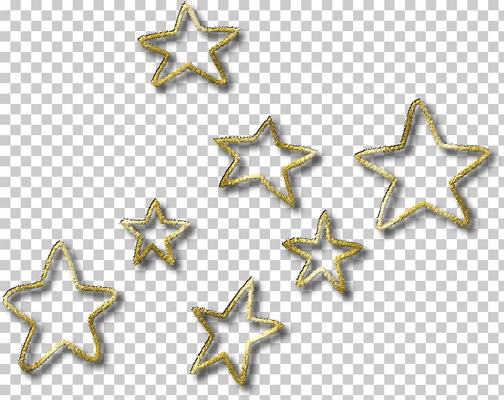 Tai chi Computer Icons , estrellas doradas PNG clipart.