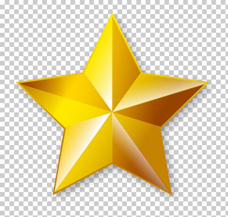 Estrella, estrellas doradas PNG Clipart.