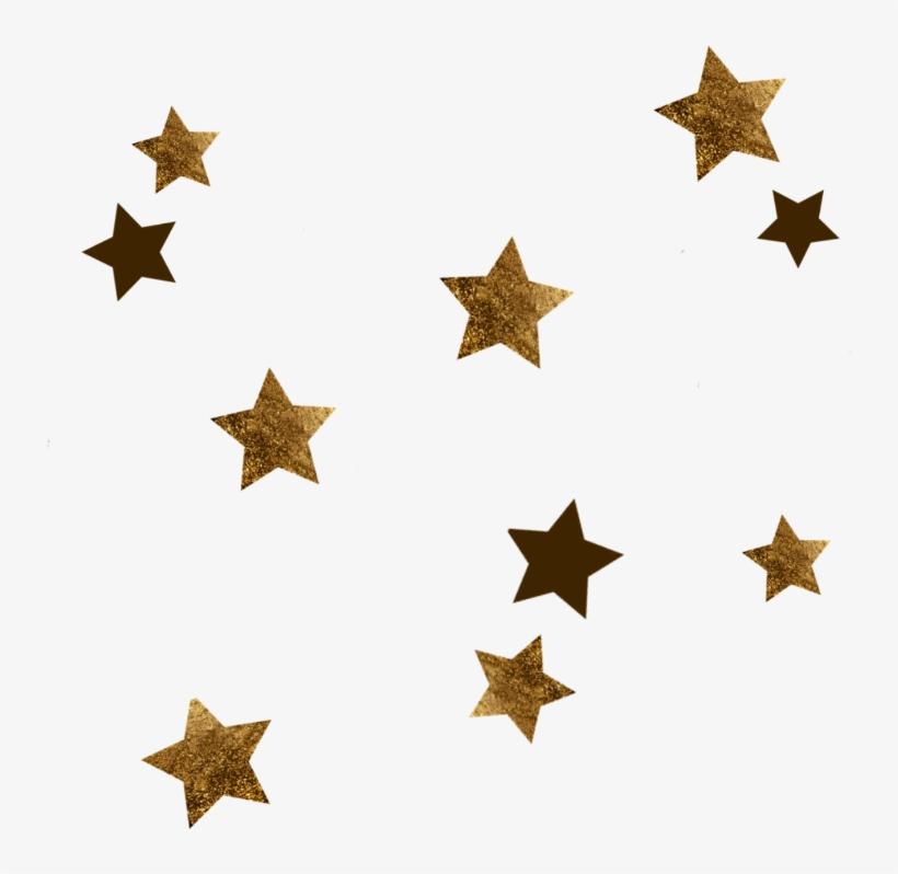 Estrellas Stars Golden Gold Dorado Galaxia Galaxy Mysti.