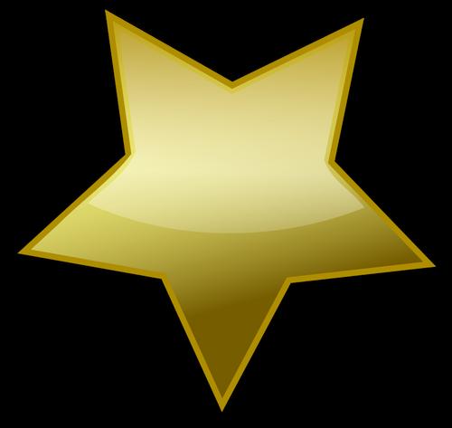 Estrellas Doradas Vector Png Vector, Clipart, PSD.