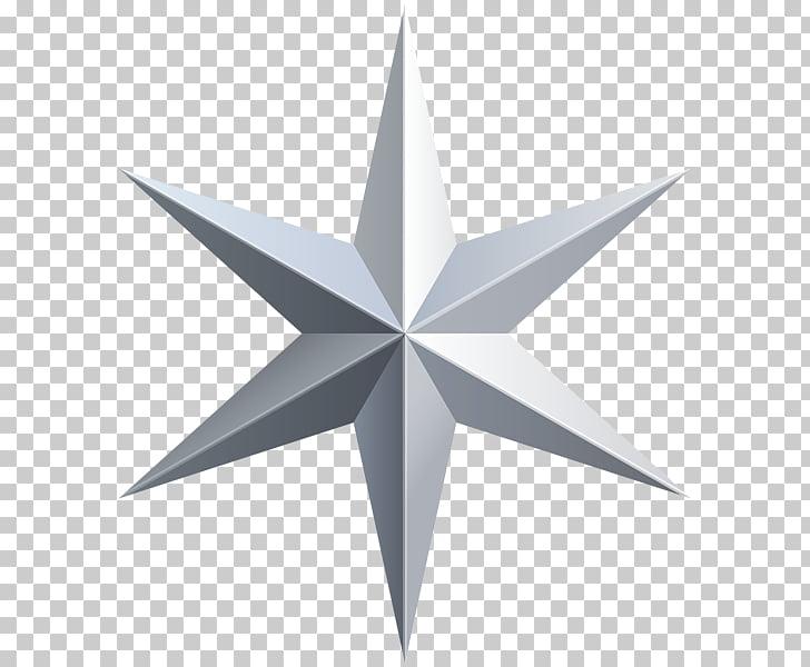 Estrella de plata, estrella de plata PNG Clipart.