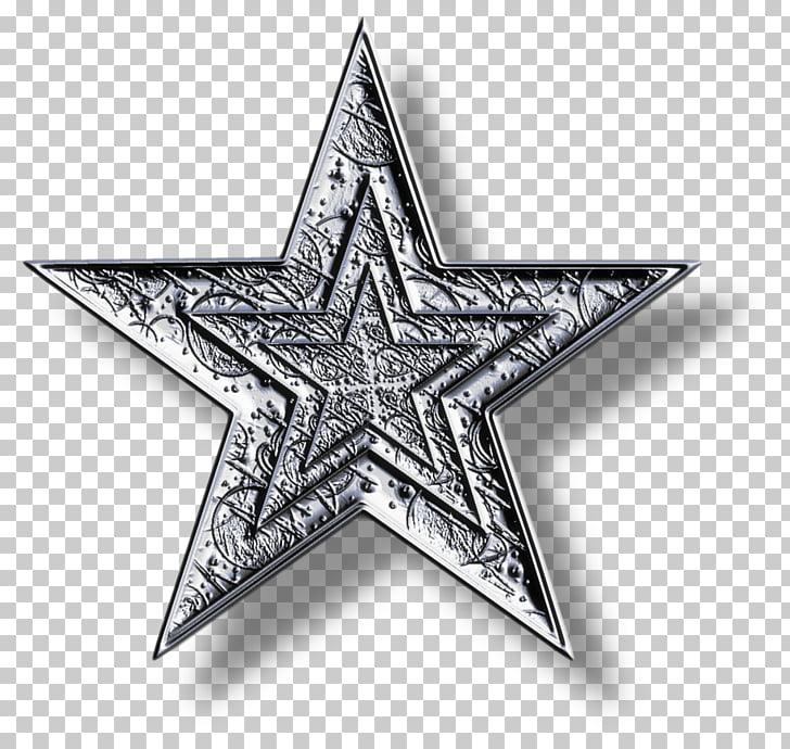 Estrella azul iconos de computadora, estrella de plata PNG.