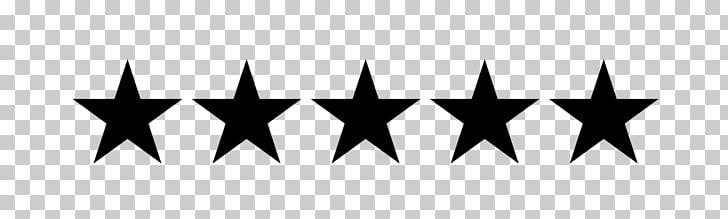 Evaluación del cliente 5 estrellas, 5 estrellas PNG Clipart.