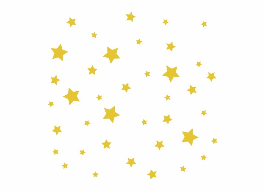 Vinilo Decorativo Infantil Estrellas.