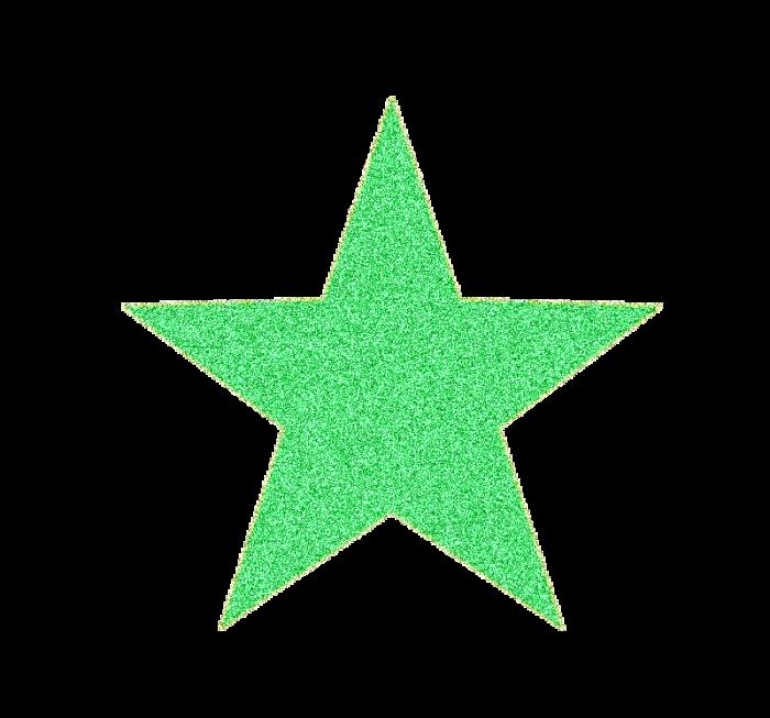 Estrella Verde Png Vector, Clipart, PSD.