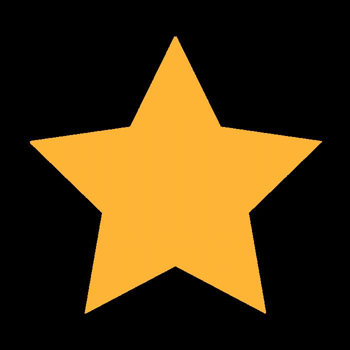 Estrella Amarilla Png Vector, Clipart, PSD.