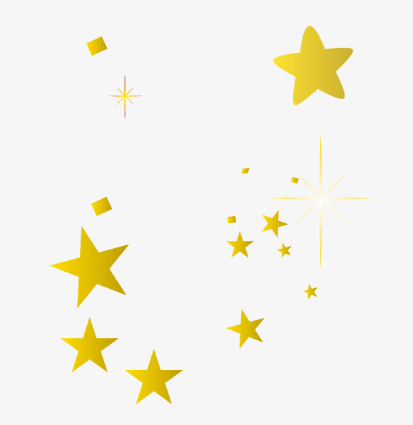 Vector Gold Star, Star Clipart, Star, Golden PNG and Vector with.