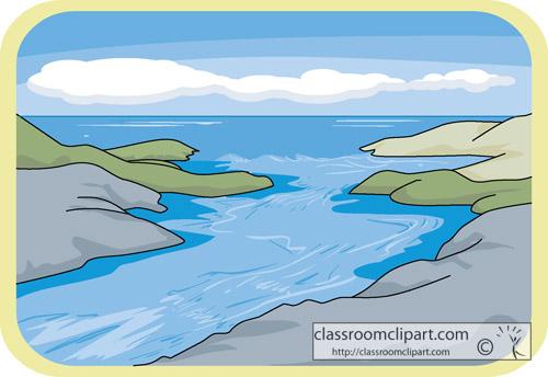 Estuary Clipart.