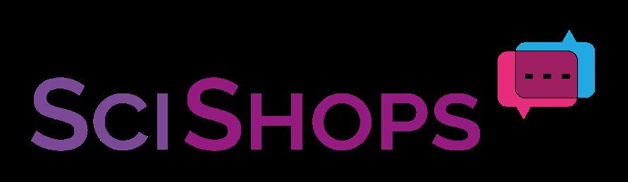 SciShops Logo.