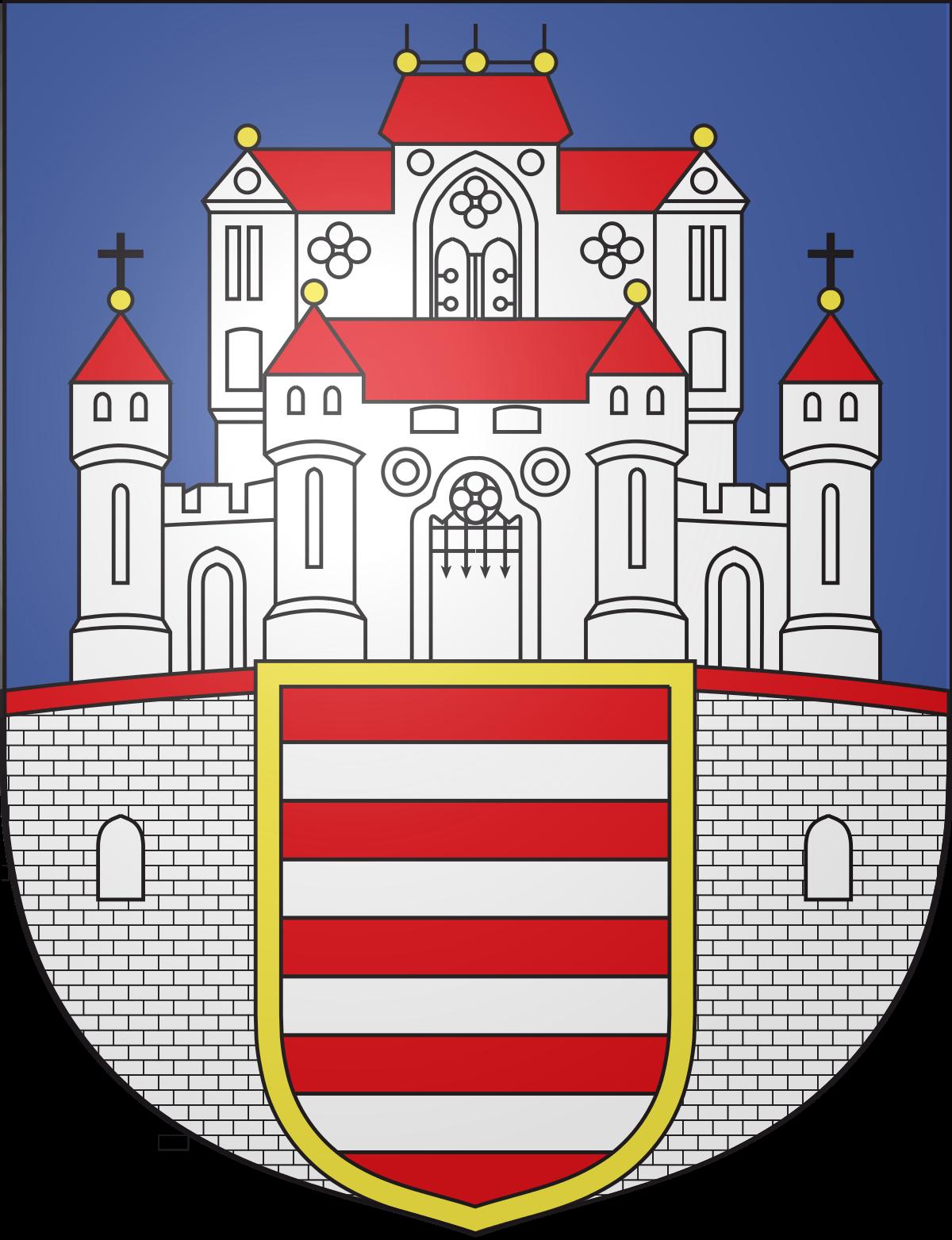 Coat of arms of Esztergom.