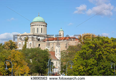 Stock Photo of Esztergom,Hungary k9890563.