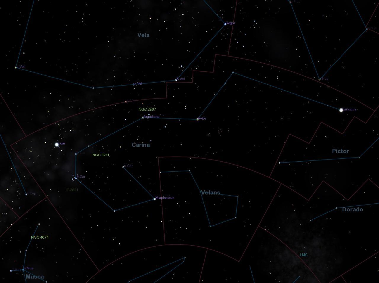 Carina constellation.