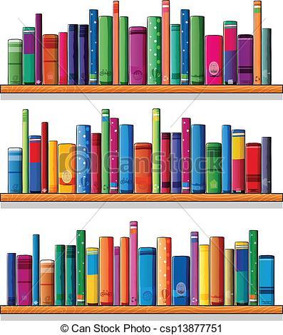 Illustration et Clip Art Vecteur Libre de Droits de Étagère. 14.